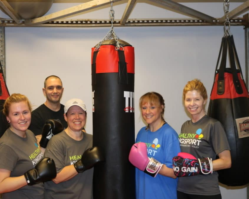 For a New You, Give Kickboxing a Try